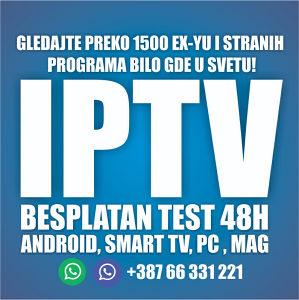 IPTV Internet televizija