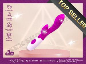 Vibrator Rabbit Brighty 14cm x 3.3cm | SEX SHOP FANTASY