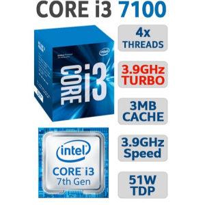 Intel® Core™ i3-7100 Processor 3M Cache, 3.90 GHz