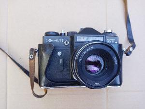 Zenit ET fotoaparat + Chinon