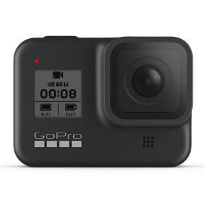 GoPro HERO 8 Black Shorty,Head Strap, bat microSD 32GB