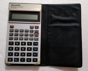 SHARP naučni digitron Scientific Calculator kalkulator