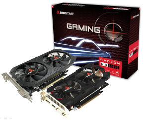 Biostar Rx 560 4GB Gaming DDR5 128bit Dx12