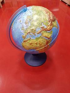 Globus lampa reljefni 25cm 062/546-546