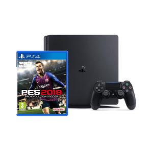Sony PlayStation 4 500 GB Slim + PES 2019