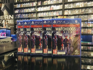 PS4 Watch Dogs Legion Resistance Ed. (PlayStation 4)