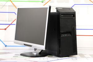 """KOMPLET Lenovo M81p i3 2Gen 22"""" LED Monitor"""