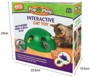Interaktivna pokretna igracka za macke