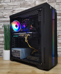 Gaming Riotoro, i3 9100F 3.6/16/512SSD/RX5708GB/600W