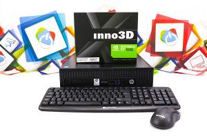 GAMING HP 800 G1 NS SFF; i5-4570; GT 1030; 500GB HDD