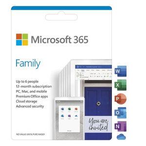 Microsoft 365 Family English pretplata 1 god.