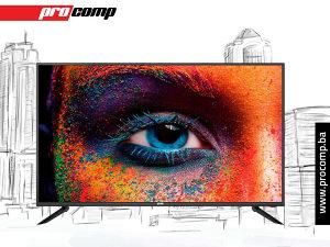 "VOX TELEVIZOR 50ADS314B, 50"", LED TV, SMART 4K UHD"