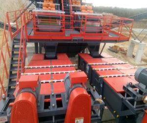 Uređaj za pranje kamena 0-100/200 mm