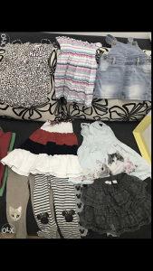 Odjeca za djevojcice od 2-3 god