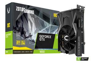 Grafička kartica ZOTAC 1650 GTX Gaming OC