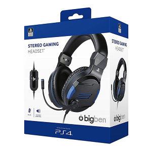 Bigben PS4 Stereo Gaming slušalice V3 Black