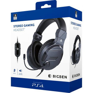 Bigben PS4 Stereo Gaming slušalice V3 Titanium