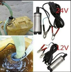 Pumpa za pretakanje goriva 12 V i 24 V