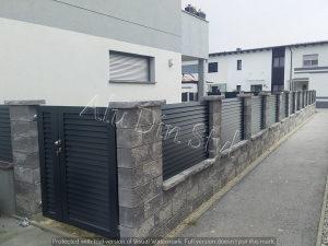 Aluminijske ograde - Dvorišne ograde