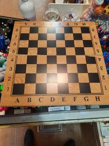 Drveni šah sa drvenim figurama i šah tavla 39 CM