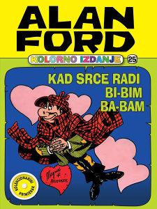 Alan Ford Kolor 25: Kad srce radi bi-bim ba-bam