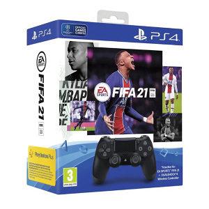 PS4 Dualshock Controller+FIFA 21 VCH+FUT VCH+PS 14dana