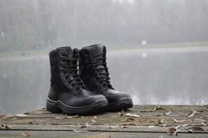 Vojne policijske čizme (lovacke) kožne (goretex)