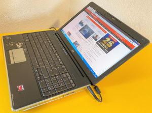 """Laptop HP 15.6"""" dual-core 2.10 /500GB/4GB/Radeon 1GB"""