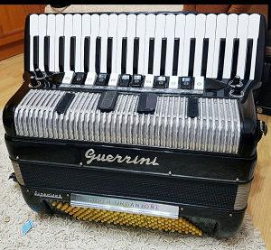 Harmonika Guerrini Superior 3 1968god SONS
