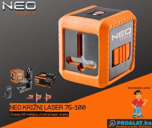 NEO Samonivelirajući križni laser 10m 75-100
