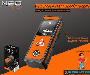 NEO Laserski mjerač 40m 75-203