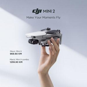 DJI Mini 2 NOVO 0,249gr