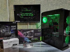 Ryzen 5 3600 4.20GHZ , GTX 1070TI STRIX 8GB DDR5