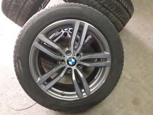 FELGE i GUME PIRELLI BMW X6 M  255/50 R19