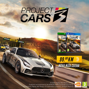 PS4 Project Cars 3 (PlayStation)
