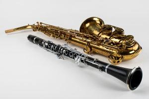 Cas klarinet i saksofon