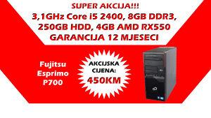 GAMING RAČUNAR Core i5, 8GB DDR, Radeon RX550 4GB