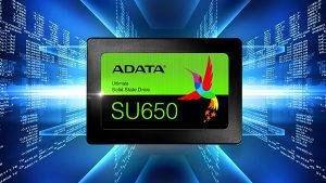 Adata SU650 3D 120GB SSD, 520/450MB/s