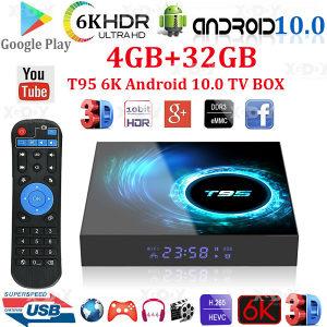 AKCIJA, Android box 10, T95 4+32g, Model 2021