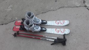 Djecije skije  Komplet
