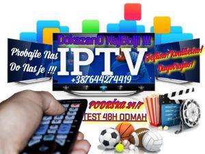 IPTV TELEVIZIJA GARANCIJA AKCIJA