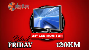 BLACK FRIDAY - Monitor SAMSUNG ThinClient TC241W 24""