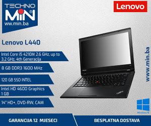 Lenovo L440, i5 4210M 2.6/8/120SSD/DVD-RW/CAM