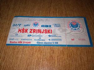 Ulaznica HSK Zrinjski