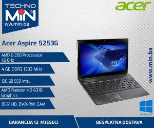 Acer 5253G, AMD E350 1.6/4/120SSD/DVD-RW/CAM