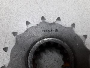 Honda cbr 954 prednji lancanik,954rr