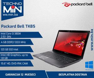 Packard Bell TK98, i3 380M 2.53/4/120SSD/DVD-RW/CAM