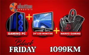 BLACK FRIDAY - GAMING PC CXC2 i7 - RX580 - POKLON