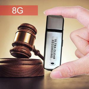 USB mini prisluškivač Špijunska oprema 8GB