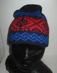 Zimska vunena kapa - prava vuna